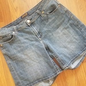 Seven 7 Denim Jean Shorts PLUS Size 16